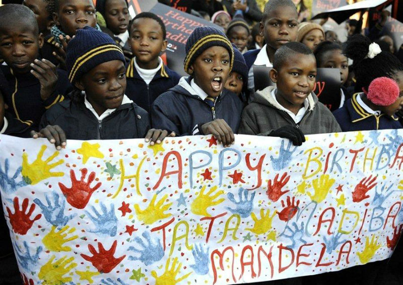 Mandela turns 94