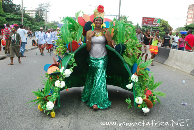 Great Photos From the Rivers State Carnival, Nigeria
