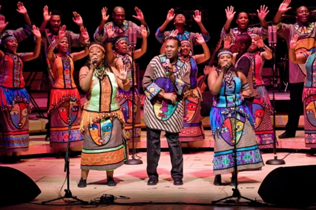 "Soweto Gospel Choir Performing ""Oh, Happy Day""!"