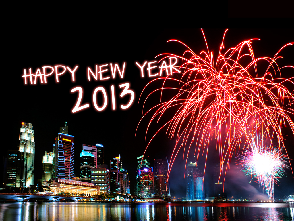 Happy New Year! 2013!