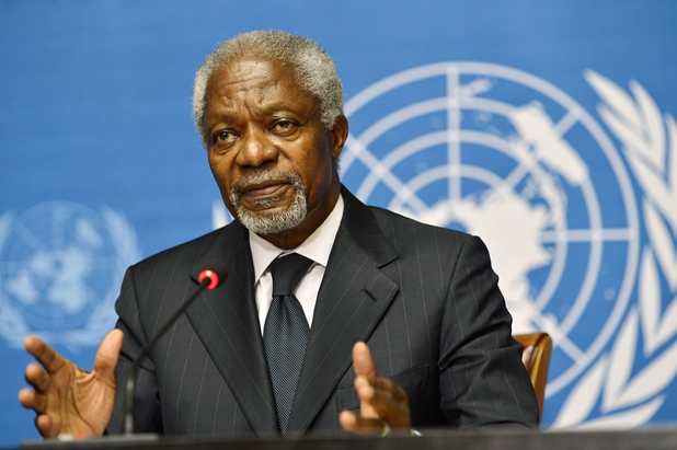 Kofi Atta Annan- In Pursuit of Peace