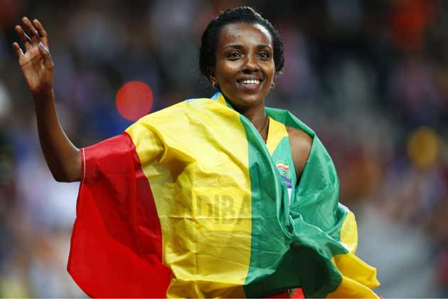 Another 10,000 Meters Gold Medal For Tirunesh Dibaba