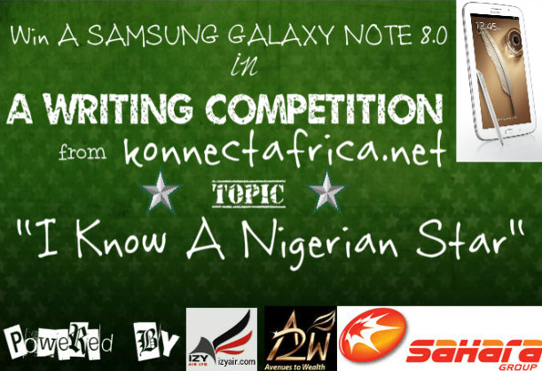 The #IKnowaNigerianStar Writing Competition…Entries Close 15th October!!!