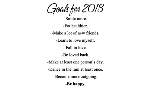 Goals for 2013 - Konnect Africa
