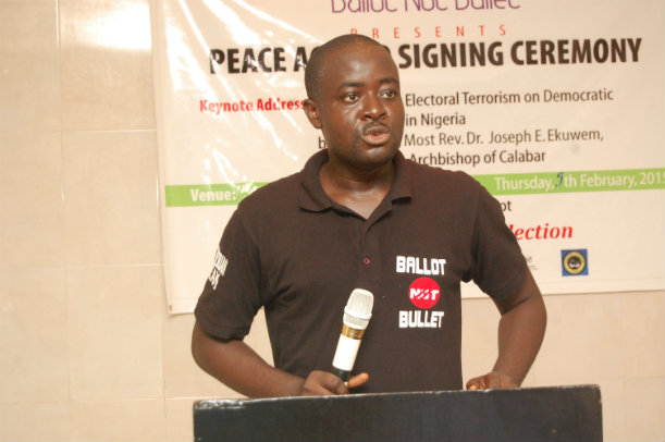 John Offiong's 'Ballot Not Bullet' Initiative – Towards Peaceful Elections in Nigeria