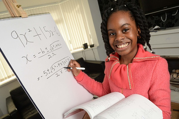 Esther Okade- The Precocious Ten Year Old University Student.