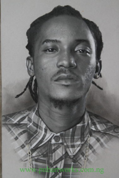 A Portrait of Jesse Jagz by PnBArtworks