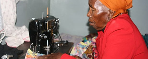 63 Years After, Lucia Mwihaki is  Still Churning out Orders on Her Trusty Sewing Machine.