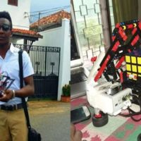 Bobai Ephraim Kato- 24 Year Old Robotics Engineer who is Determined to Solve Nigeria's Security Challenges Using Digital Forensic Technology.