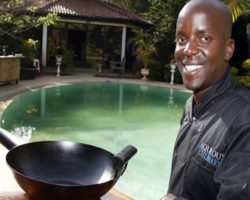 Brian Owango is the Pioneer Of Contemporary Mixology in Kenya and the CEO of Aqueous Mobile Bar