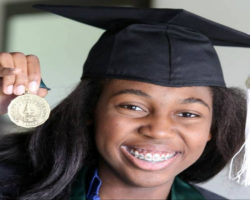 Thessalonika Arzu-Embry: Home-Schooled at Age Four, Became a Public Inspirational Speaker at 6 and Earned her Bachelor's Degree at 11